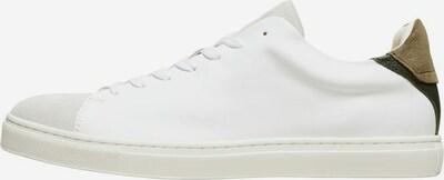 SELECTED HOMME Sneaker in beige / grün / schwarz / weiß, Produktansicht