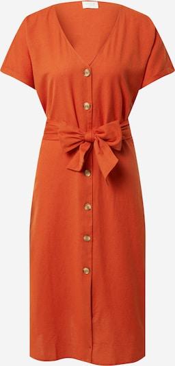 VILA Robe-chemise 'MARINE' en rouge rouille, Vue avec produit
