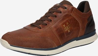 BULLBOXER Chaussure à lacets en cognac, Vue avec produit