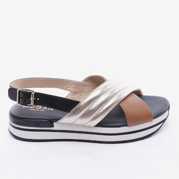 HOGAN Sandals & High-Heeled Sandals in 40 in Mixed colors
