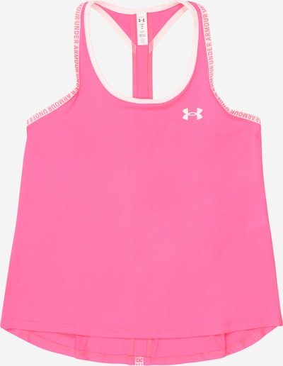 UNDER ARMOUR Sporta topiņš 'Knockout' rozā / rožkrāsas / balts, Preces skats