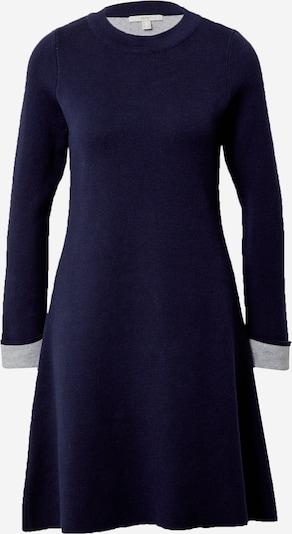 ESPRIT Robes en maille en bleu marine / gris clair, Vue avec produit