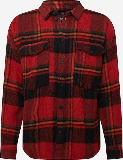 tigha Jacke 'Jonte' in rot / schwarz / weiß, Produktansicht
