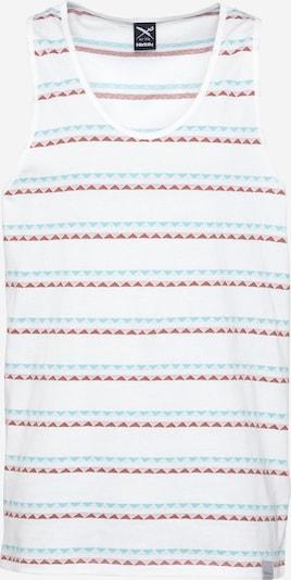 Maglietta 'Monte Noe' Iriedaily di colore blu chiaro / pitaya / cipria / bianco, Visualizzazione prodotti