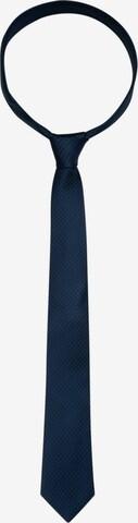 SEIDENSTICKER Krawatte ' Schwarze Rose ' in Blau