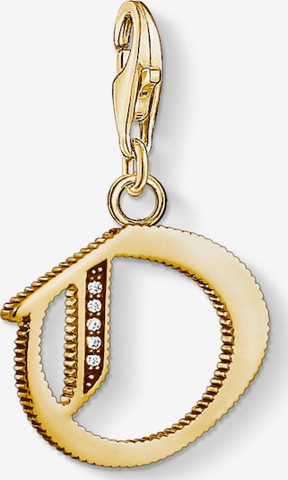Thomas Sabo Thomas Sabo Damen-Charm 925er Silber ' ' in gold, Produktansicht