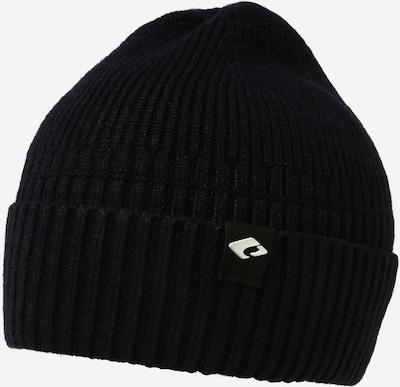 chillouts Mütze 'Hugo' in schwarz / weiß, Produktansicht