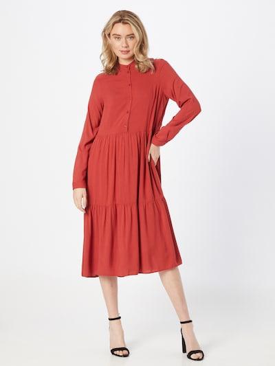 VERO MODA Vestido en rojo anaranjado, Vista del modelo