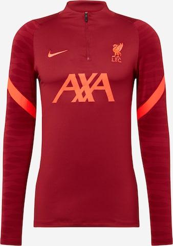 NIKE Spordidressipluusid 'Liverpool FC Strike', värv punane