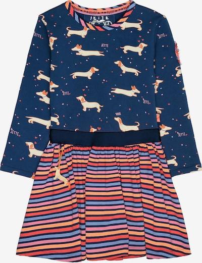 JETTE BY STACCATO Kleid in blau / mischfarben / rot, Produktansicht