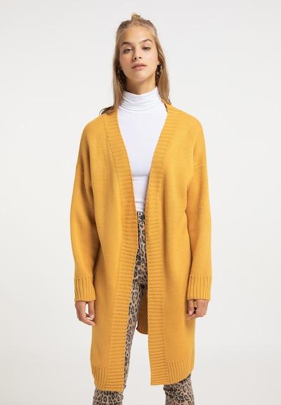 MYMO Cardigan in gelb, Modelansicht