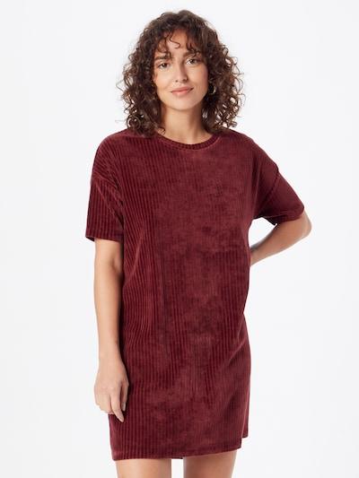 Kauf Dich Glücklich Kleid in weinrot, Modelansicht