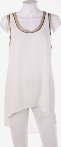 Susy Mix Top & Shirt in L in White