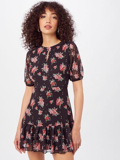 Trendyol Kleid in gelb / grün / pink / rot / schwarz, Modelansicht