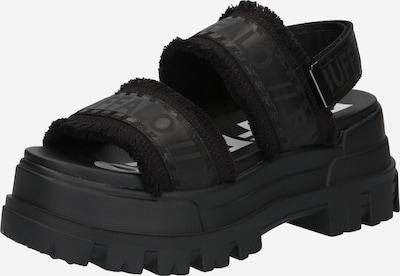 BUFFALO Sandaler med rem i sort, Produktvisning