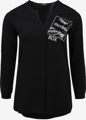 Doris Streich Blouse 'THINK OUTSIDE THE BOX' in Black