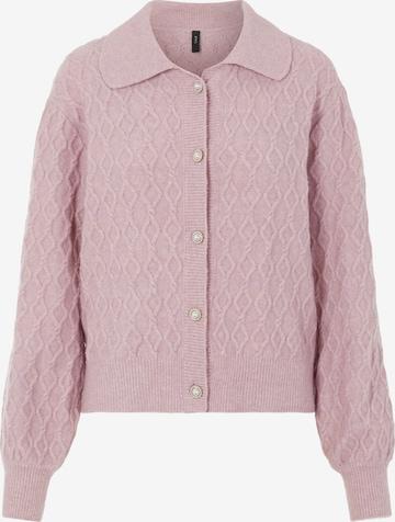 Y.A.S Strickjacke 'Micci' in Pink