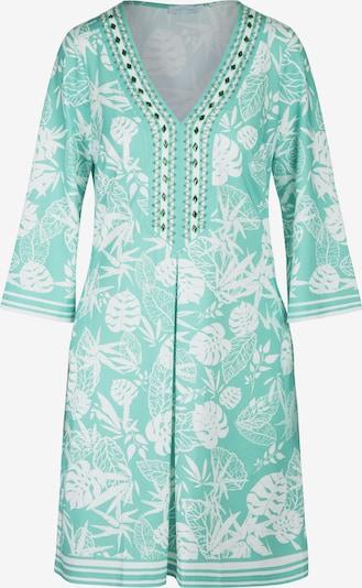 mint & mia Kleid in hellgrün / weiß, Produktansicht