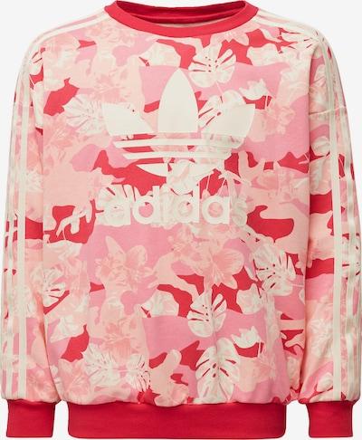 ADIDAS ORIGINALS Sweatshirt in creme / rosa, Produktansicht