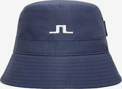 J.Lindeberg Chapeaux de sports 'Hans' en bleu marine / blanc, Vue avec produit
