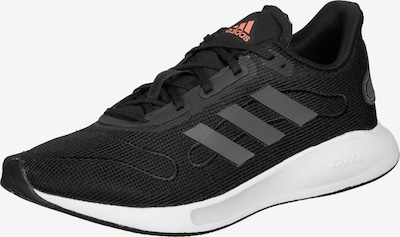 ADIDAS PERFORMANCE Chaussure de course 'Galaxar' en gris foncé / saumon / noir, Vue avec produit