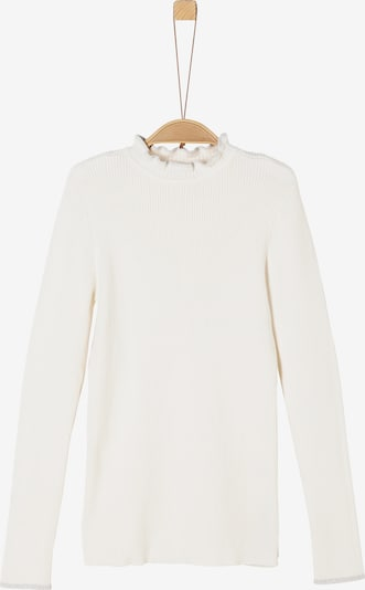 s.Oliver Pullover in offwhite, Produktansicht