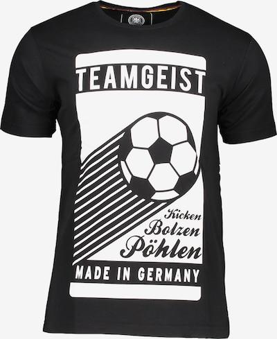 DFB T-Shirt in schwarz: Frontalansicht