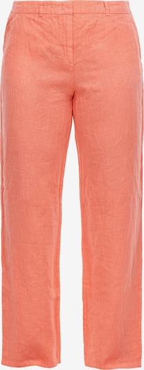 TRIANGLE Regular Fit: Hose aus Leinen in apricot, Produktansicht