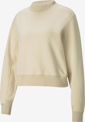 PUMA Sportsweatshirt 'Infuse' in Beige