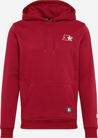 Starter Black Label Sweater majica u crvena / bijela, Pregled proizvoda