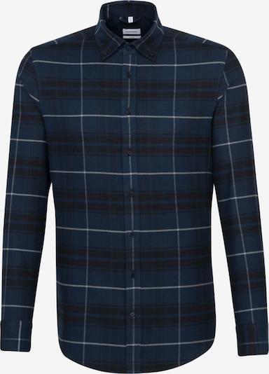 SEIDENSTICKER Zakelijk overhemd in de kleur Donkerblauw / Zwart / Wit, Productweergave