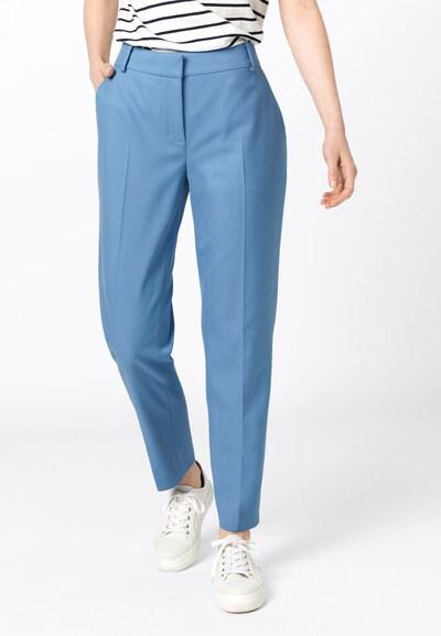 HALLHUBER Bügelfaltenhose in hellblau, Modelansicht