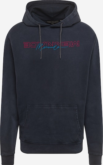Megztinis be užsegimo 'Combo' iš Mennace , spalva - tamsiai mėlyna / raudona: Vaizdas iš priekio