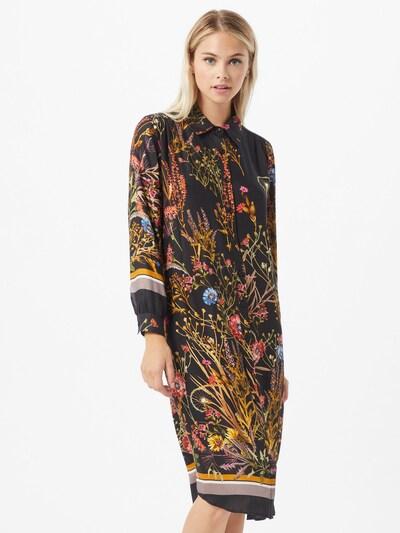 SAND COPENHAGEN Košilové šaty 'Asia' - mix barev / černá, Model/ka
