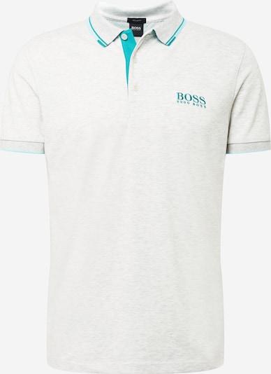 Marškinėliai 'Paddy' iš BOSS ATHLEISURE, spalva – turkio spalva / margai balta, Prekių apžvalga