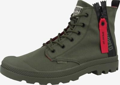 Palladium Boots 'Pampa' in grün, Produktansicht