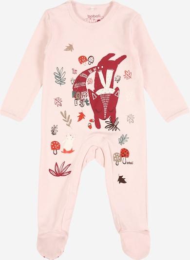 Boboli Rompertje/body 'Tiere' in de kleur Pink, Productweergave
