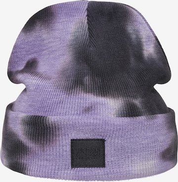 Urban Classics Beanie in Purple