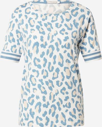 Mey Majica za spanje | nude / dimno modra / bela barva, Prikaz izdelka