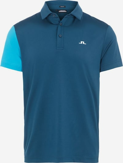 J.Lindeberg Funktionsshirt 'Simon' in blau / türkis, Produktansicht