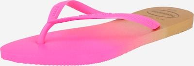 HAVAIANAS Teenslipper in de kleur Geel / Pink / Wit, Productweergave