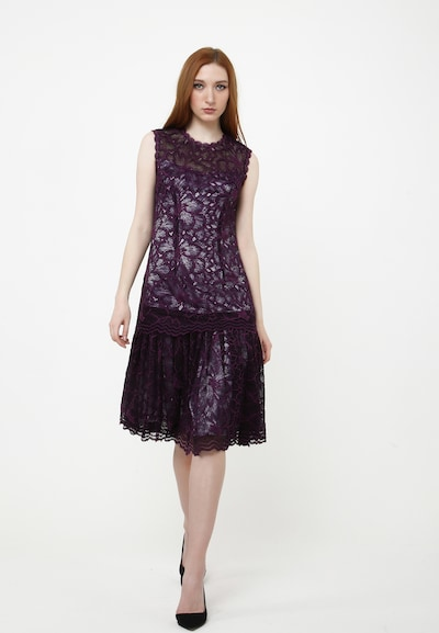 Madam-T Sommerkleid 'OTILIA' in lila, Modelansicht