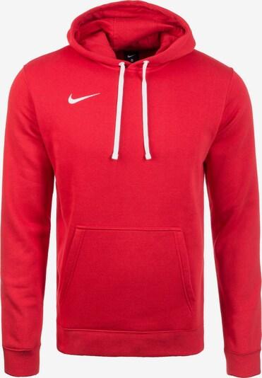 NIKE Sportsweatshirt 'Club19' in de kleur Rood / Wit, Productweergave