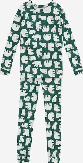 GAP Schlafanzug 'POLAR BEAR' in grün / weiß, Produktansicht