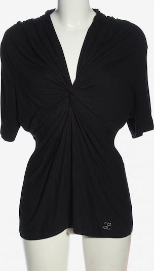 ǝe Elégance Kurzarm-Bluse in 4XL in schwarz, Produktansicht