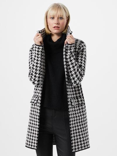 Key Largo Pletený kabátek 'VERENA' - černá / bílá, Model/ka