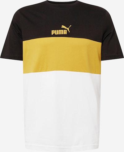 PUMA Shirt in gelb / schwarz / weiß, Produktansicht