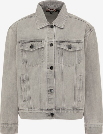 myMo ROCKS Between-Season Jacket in Grey