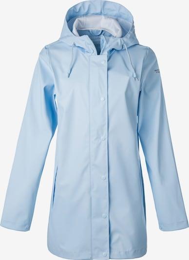 Weather Report Regenmantel 'PETRA W RAIN JACKET' in blau, Produktansicht