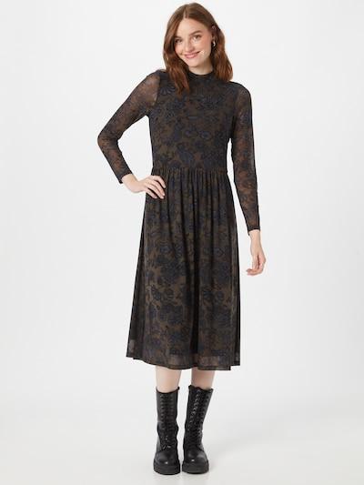 Esprit Collection Šaty - hnědá / šedá / černá, Model/ka